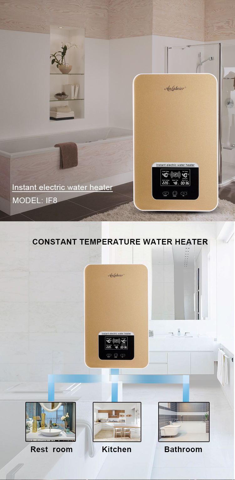 instant tankless electric water heater manufacturer