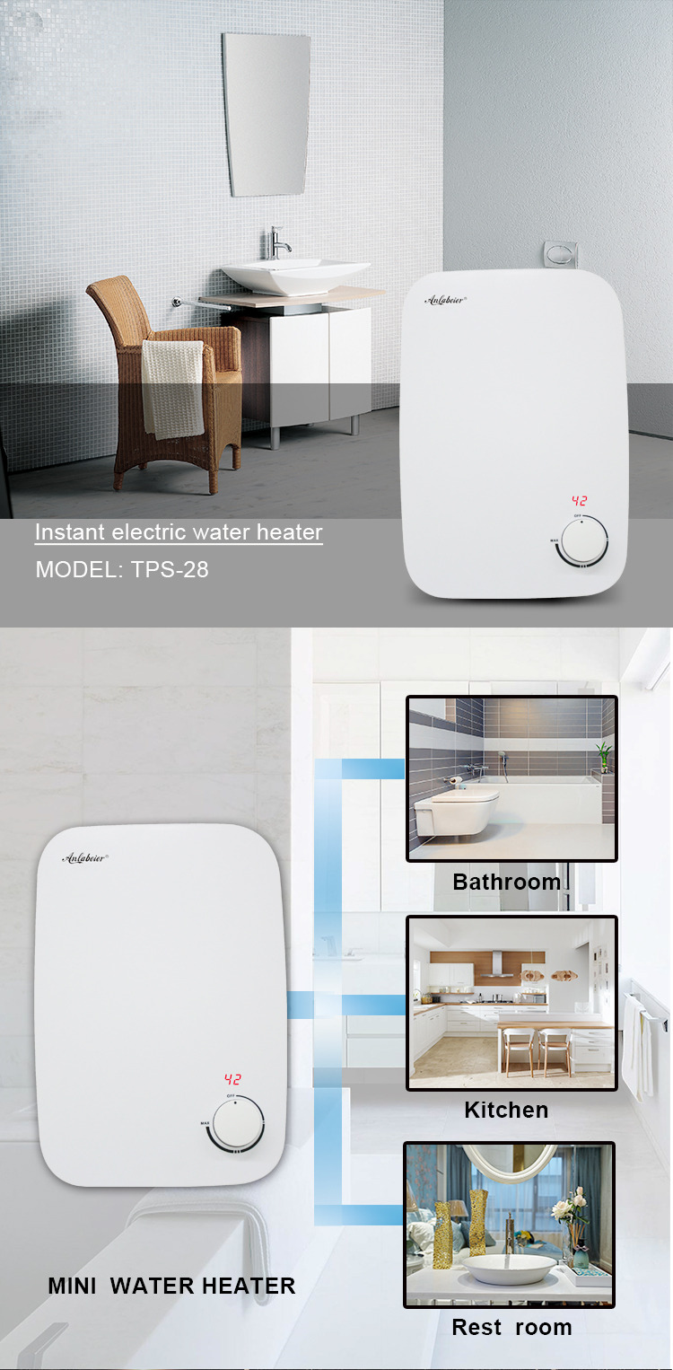 wall mounted water heater
